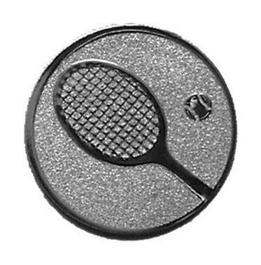 Éremb. TENISZ 25mm ezüst   033