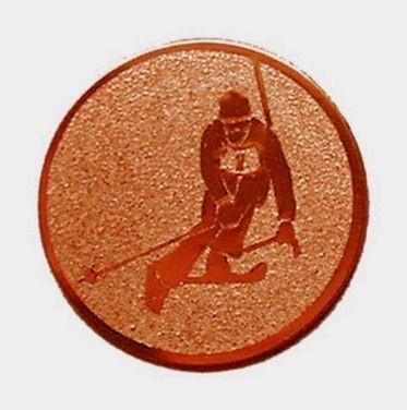 Éremb. SÍ 25mm bronz      095