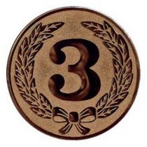 Éremb.  3  25mm bronz      107