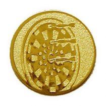 Éremb. DARTS 50mm arany    087