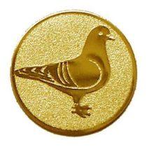 Éremb. galamb 50mm arany           101