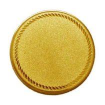 Éremb. ÜRES2 50mm arany új 131
