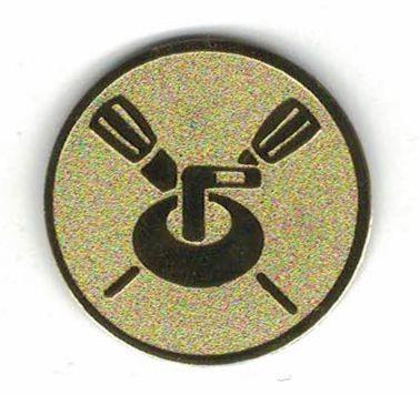 Éremb.  Curling 50mm arany          669