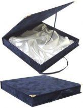 BOX KÉK PLD26 selyem belsővel
