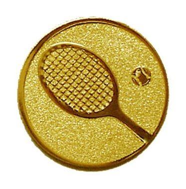 Éremb. TENISZ 25mm arany    033