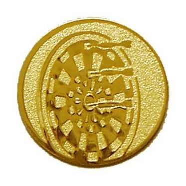 Éremb. DARTS 25mm arany    087