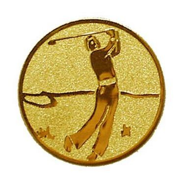 Éremb. GOLF 25mm Arany     109