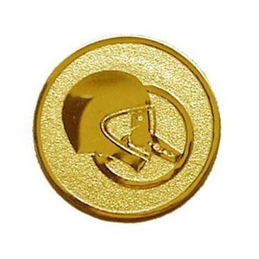Éremb. AUTÓS 25mm arany (sisak-korm) 117