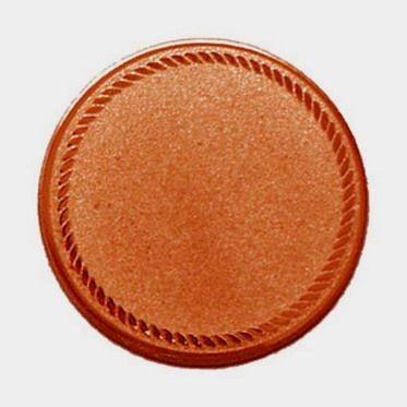 Éremb. ÜRES2 50mm bronz új 131