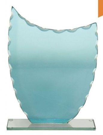 Jessica1 üvegdíj kék
